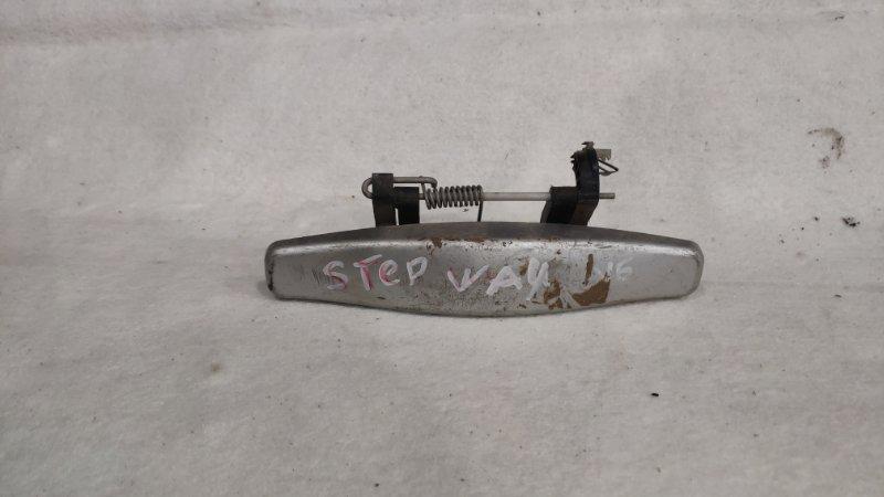 Ручка двери внешняя Renault Sandero Stepway BS 2010 задняя левая (б/у)