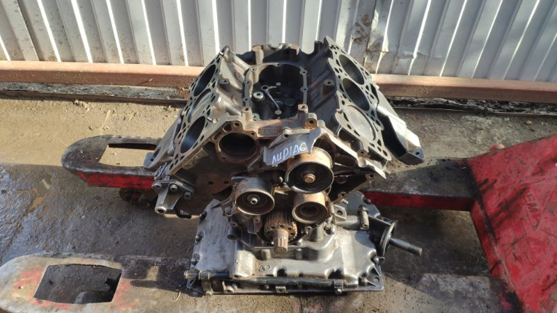Блок двигателя, шорт блок Audi A6 C5 AGA 1997 (б/у)