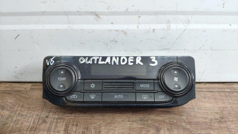 Блок управления кондиционером Mitsubishi Outlander 3 GF 2012 (б/у)