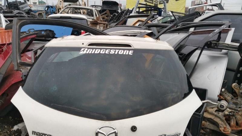 Стекло заднее Mazda Demio DE5FS ZY-VE 2007 (б/у)