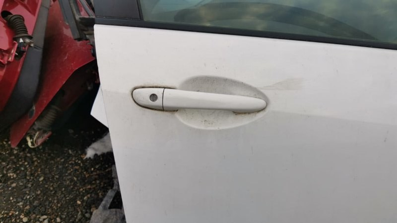 Ручка двери внешняя Mazda Demio DE5FS ZY-VE 2007 передняя правая (б/у)