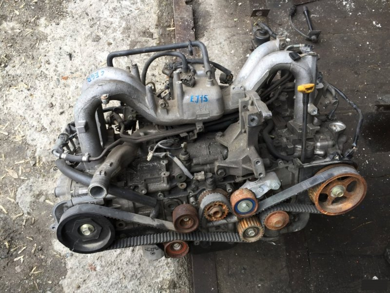 Головка блока цилиндров Subaru Impreza EJ15 (б/у)