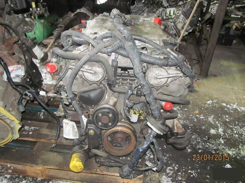 Двигатель Infiniti Fx35 VQ35DE (б/у)