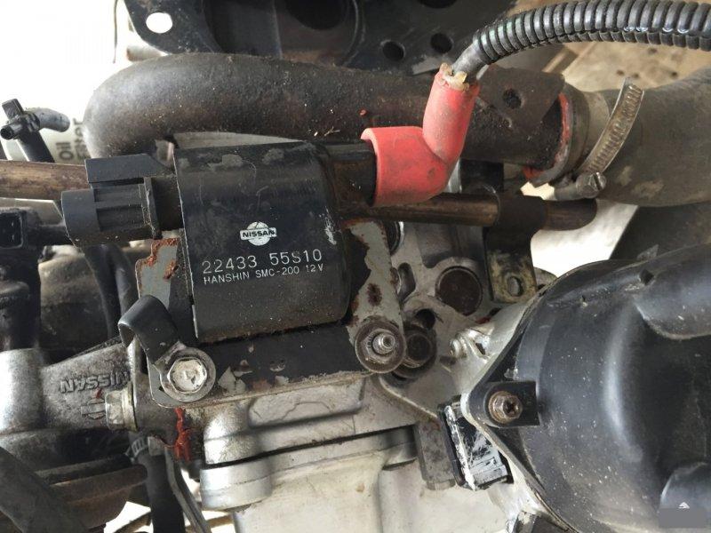 Катушка зажигания Nissan Avenir AEGE24 GA13-DS (б/у)