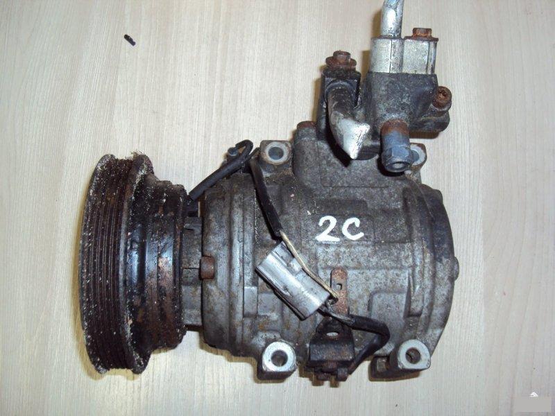 Компрессор кондиционера Toyota Caldina 2C (б/у)