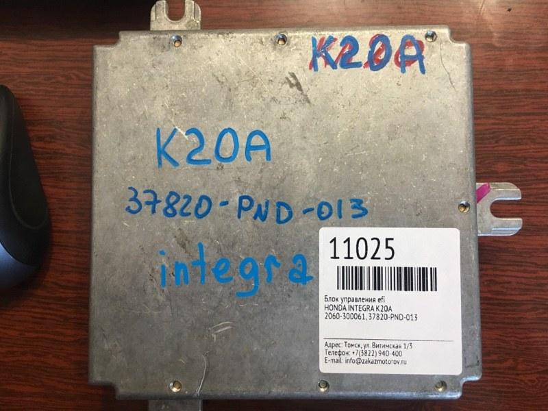 Блок управления efi Honda Integra K20A (б/у)