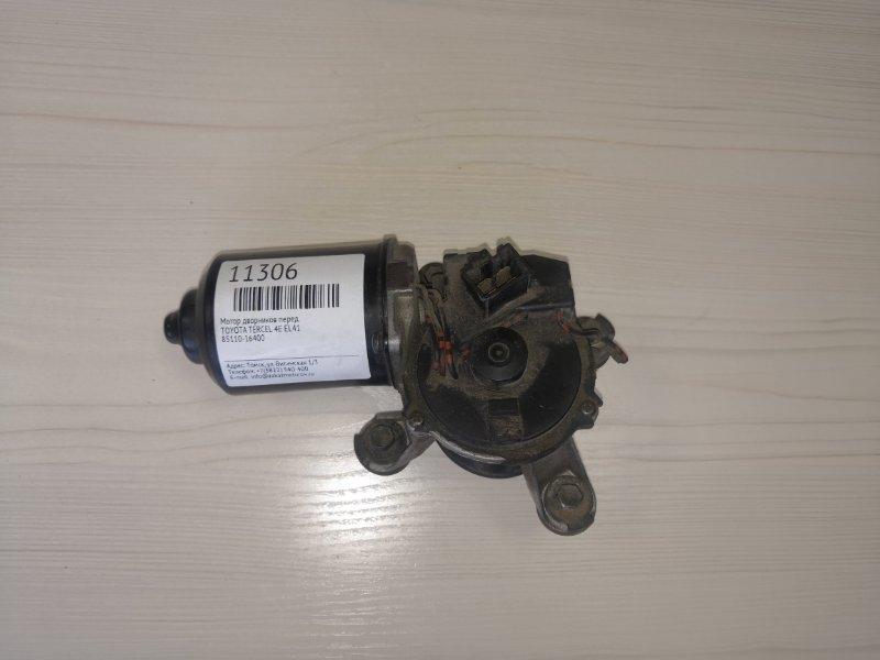 Мотор дворников Toyota Tercel EL41 4E передний (б/у)