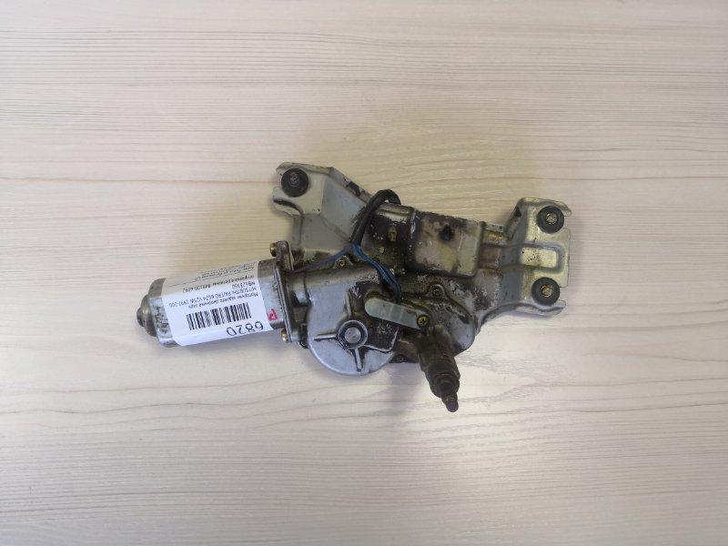 Моторчик заднего дворника Mitsubishi Pajero V25W 6G74 1997 задний (б/у)