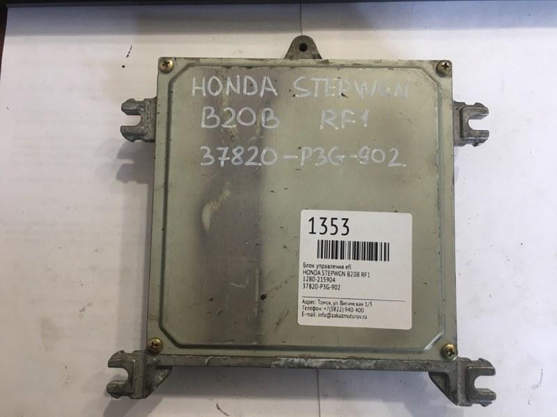 Блок управления efi Honda Stepwgn RF1 B20B (б/у)