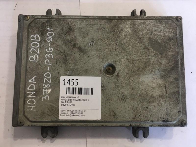 Блок управления efi Honda Step Wagon RF1 B20B (б/у)