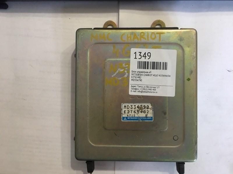 Блок управления efi Mitsubishi Chariot N33WN43W 4G63 (б/у)