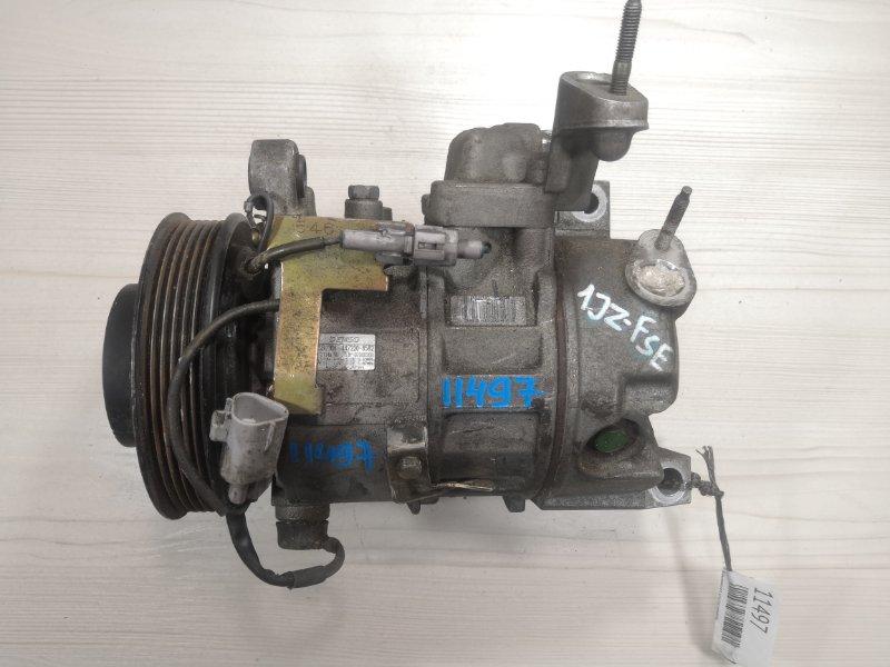 Компрессор кондиционера Toyota Mark Ii Blit JZX110 1JZFSE (б/у)