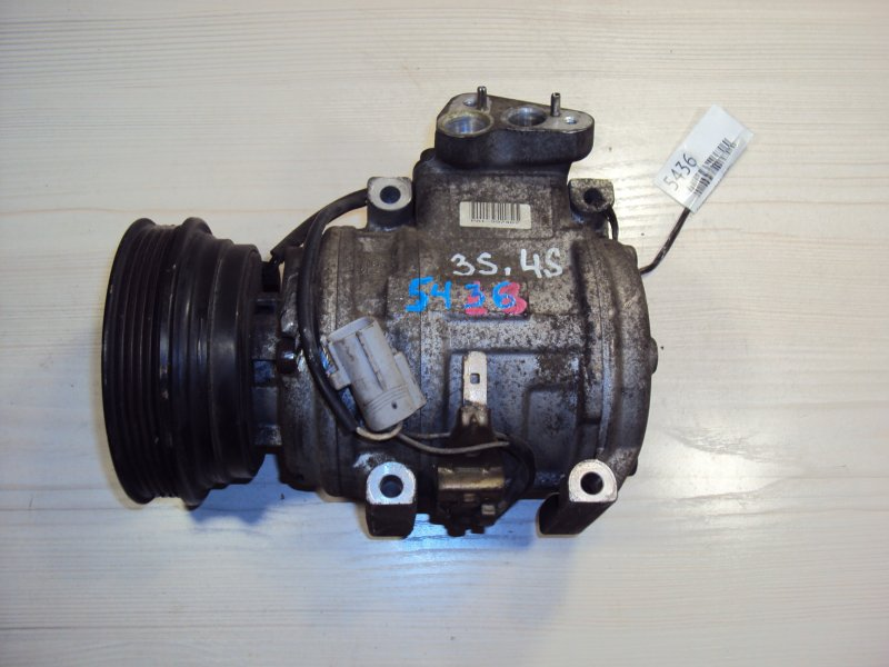 Компрессор кондиционера Toyota Avensis SV40 3S (б/у)