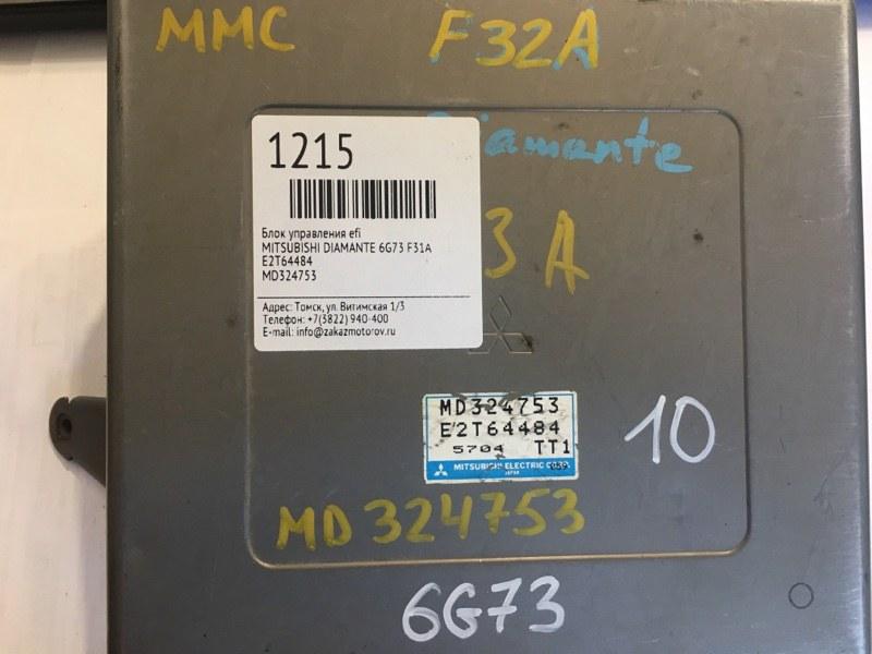 Блок управления efi Mitsubishi Diamante F31A 6G73 (б/у)