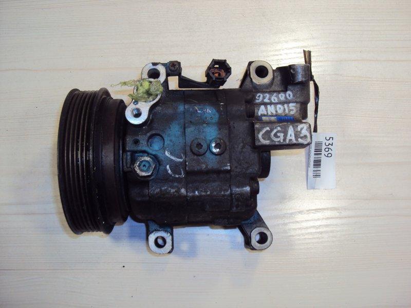 Компрессор кондиционера Nissan Cube AK11 CG10 (б/у)