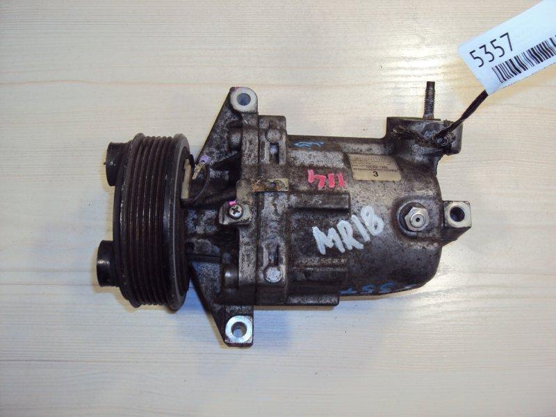 Компрессор кондиционера Nissan Ad VJY12 MR18DE (б/у)
