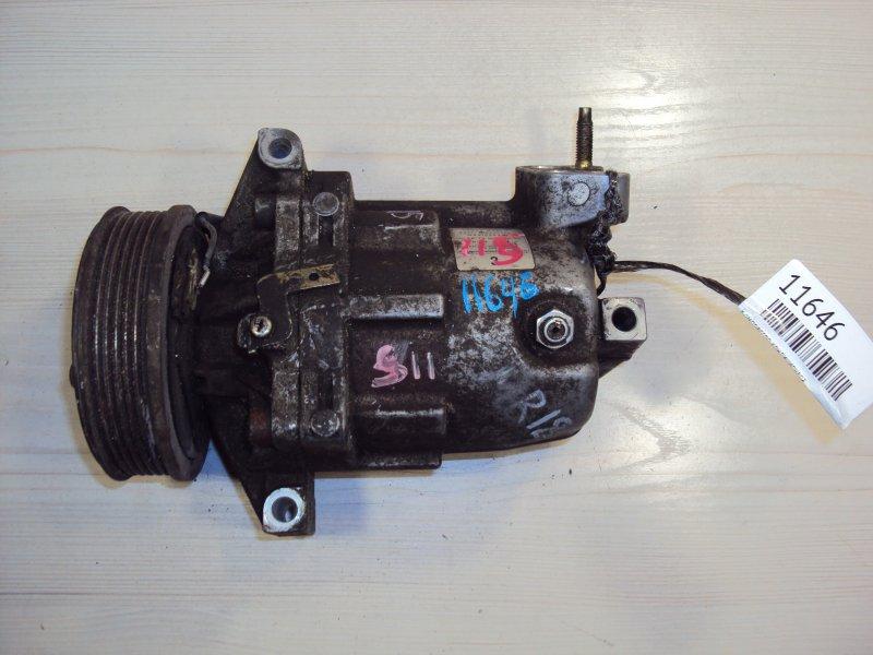 Компрессор кондиционера Nissan Ad VY12 MR18 (б/у)