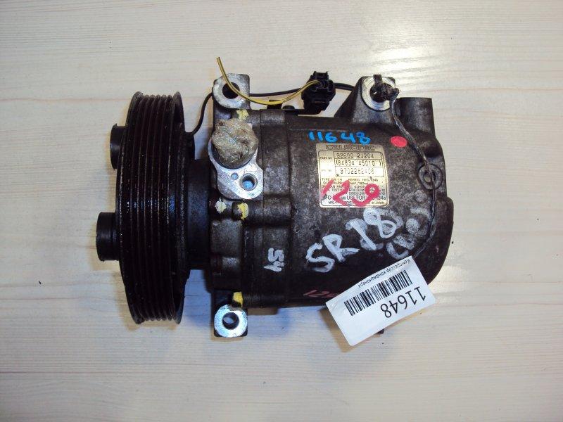 Компрессор кондиционера Nissan Almera ENU13 SR18DE (б/у)