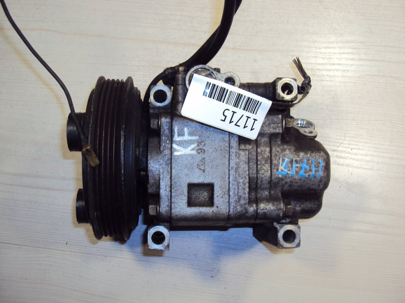 Компрессор кондиционера Mazda Familia TA5P KF (б/у)