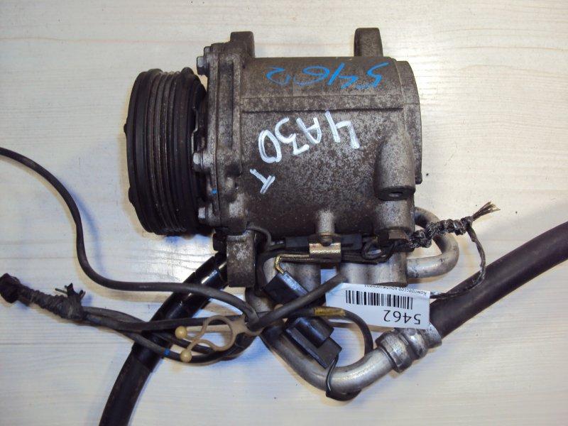 Компрессор кондиционера Mitsubishi Pajero Mini 4A30T (б/у)