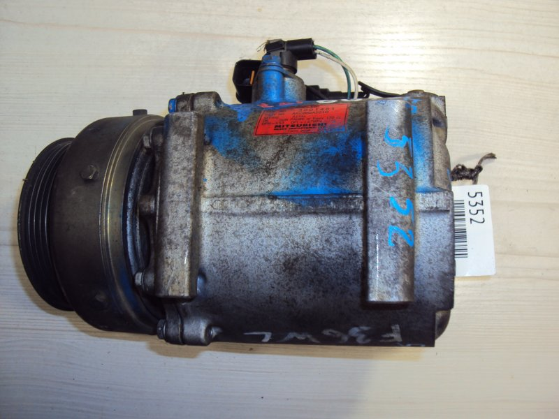 Компрессор кондиционера Mitsubishi Montero K85W 4G64 (б/у)