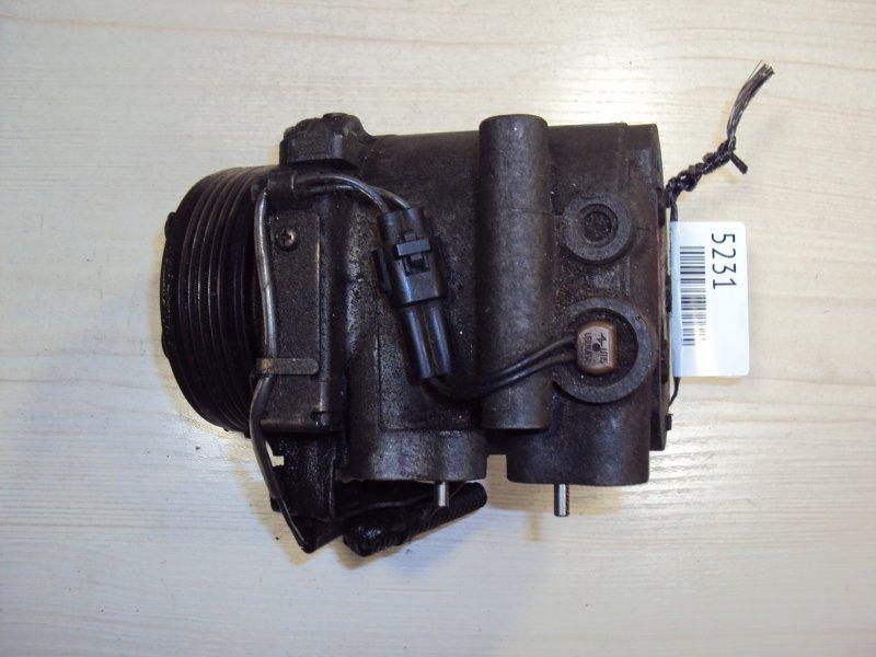 Компрессор кондиционера Mitsubishi Carisma DA1A 4G15 (б/у)