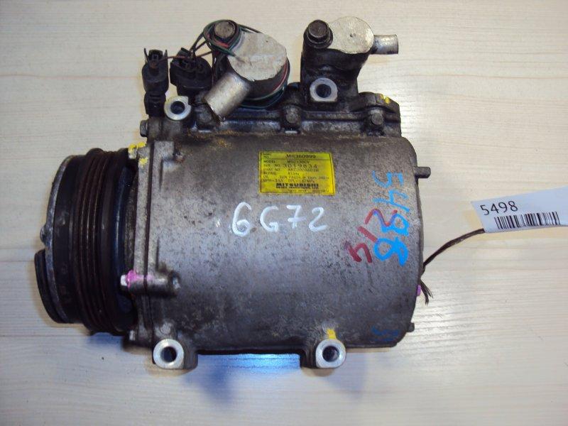 Компрессор кондиционера Mitsubishi Pajero PD6W 6G72 (б/у)