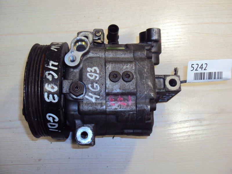 Компрессор кондиционера Mitsubishi Pajero Io H76W 4G93 (б/у)