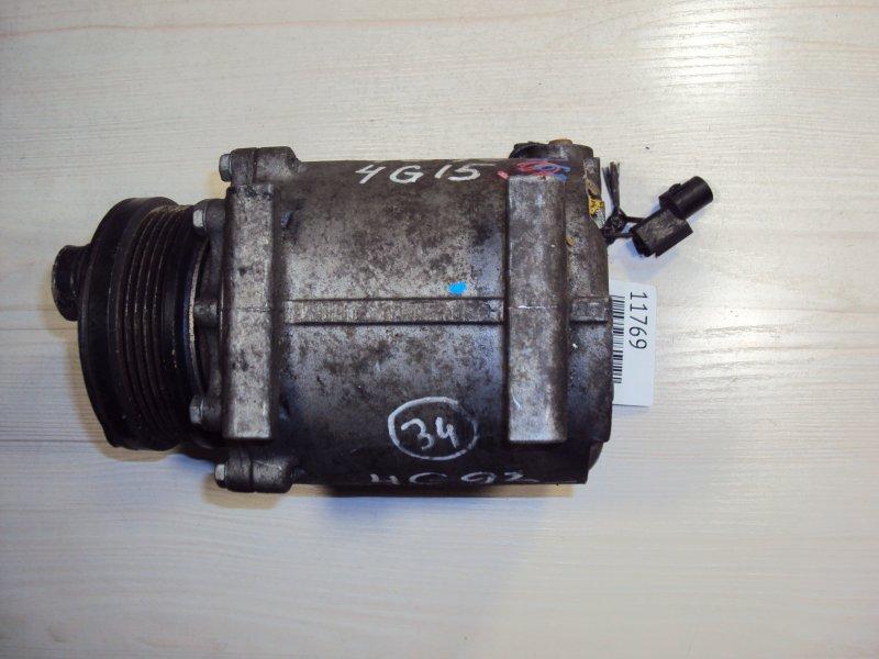 Компрессор кондиционера Mitsubishi Lancer CQ1A 4G15 (б/у)