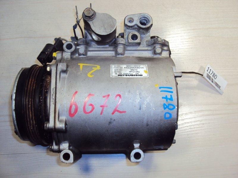 Компрессор кондиционера Mitsubishi Space Gear 6G72 (б/у)