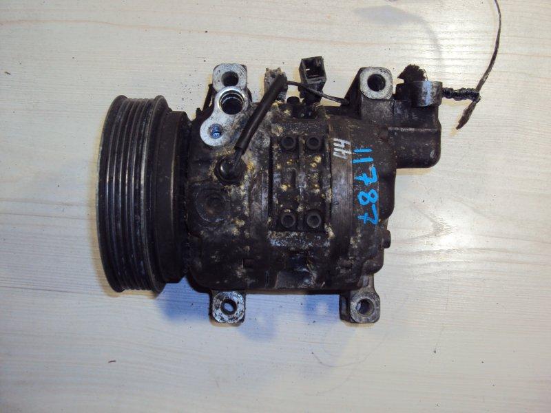 Компрессор кондиционера Nissan March AK11 CG10 (б/у)