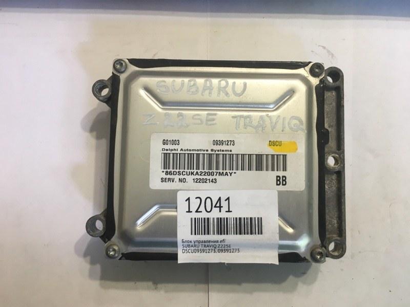 Блок управления efi Subaru Traviq Z22SE (б/у)