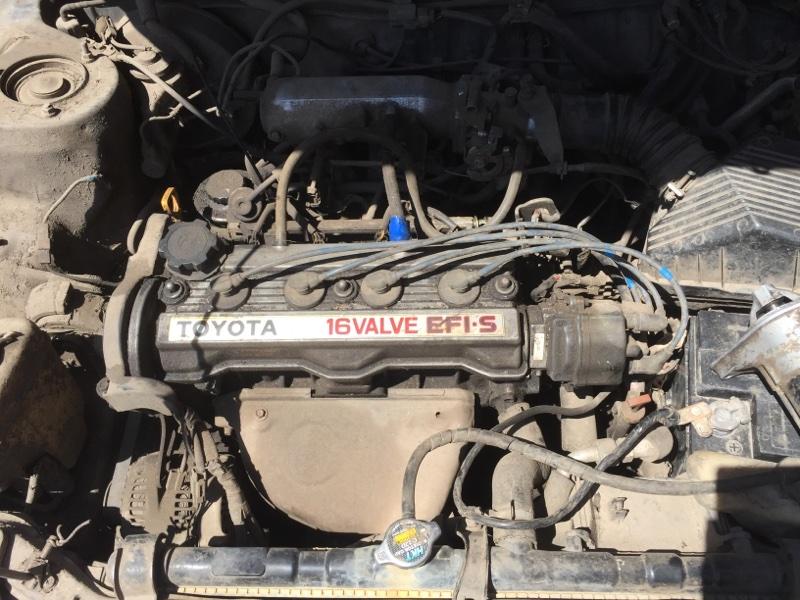 Радиатор основной Toyota Carib 95 4AFHE (б/у)