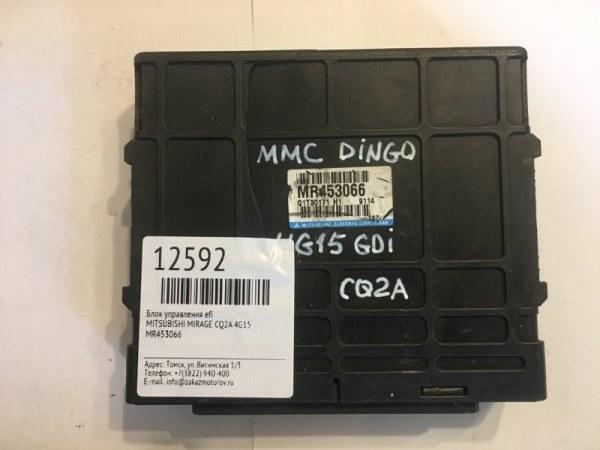 Блок управления efi Mitsubishi Mirage CQ2A 4G15 (б/у)