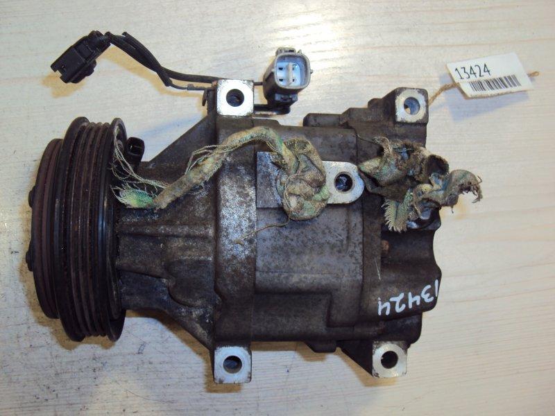 Компрессор кондиционера Toyota Corolla NZE120 1NZ (б/у)