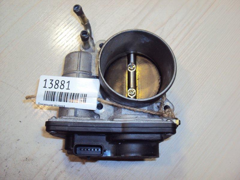 Дроссельная заслонка Nissan G35 MR18 (б/у)