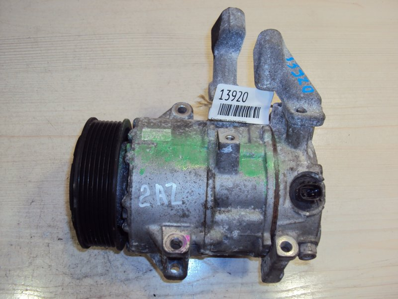 Компрессор кондиционера Toyota Avensis Verso ACM21 1AZ (б/у)