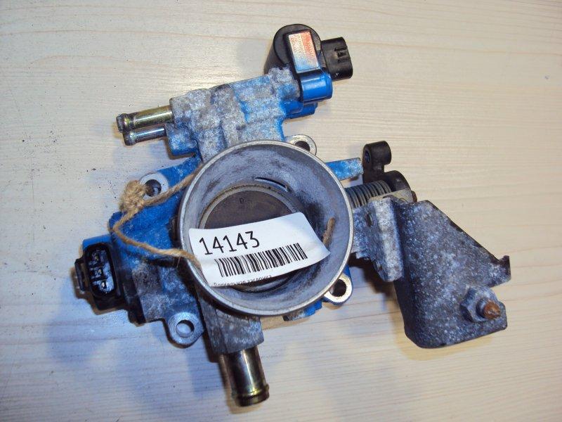 Дроссельная заслонка Toyota Avensis ZZT25 1ZZ (б/у)
