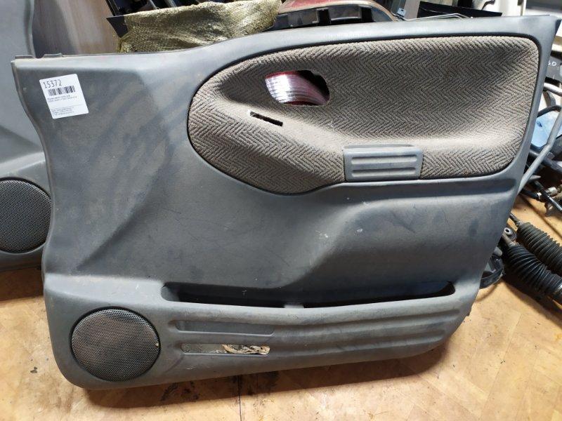 Обшивка дверей Suzuki Grand Vitara TD62W H25A передняя правая (б/у)