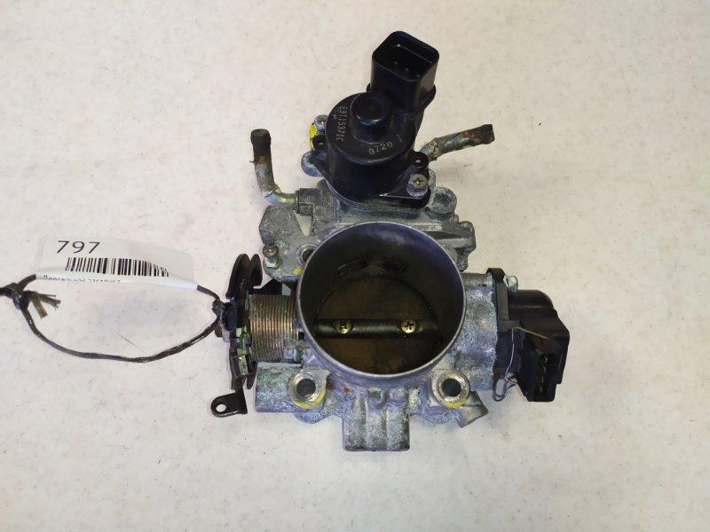 Дроссельная заслонка Mitsubishi Delica V25W 6G72 (б/у)