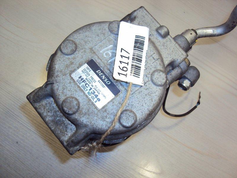 Компрессор кондиционера Honda Stepwagon RF B20B (б/у)