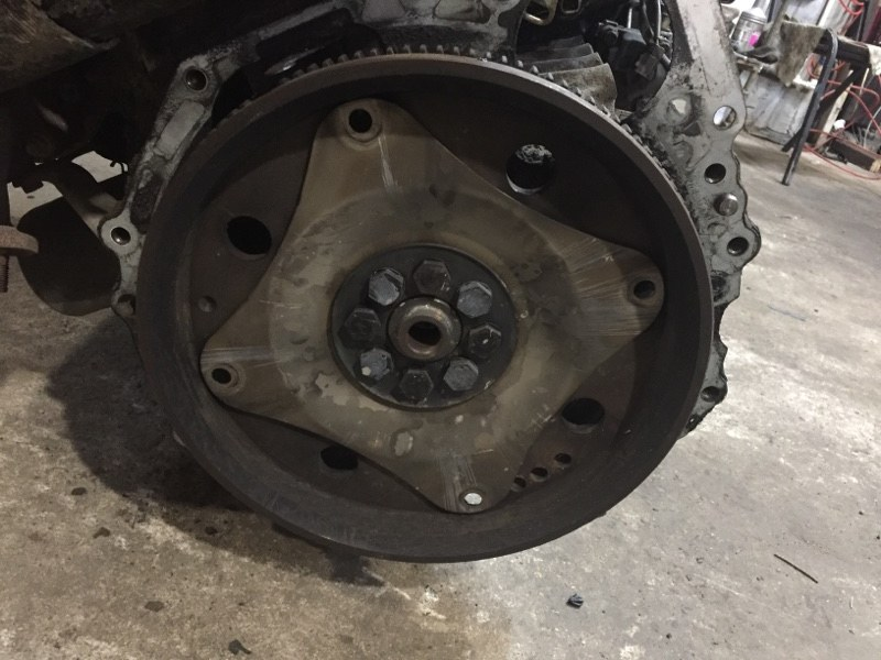 Маховик Mazda Bongo Frendee WLT (б/у)
