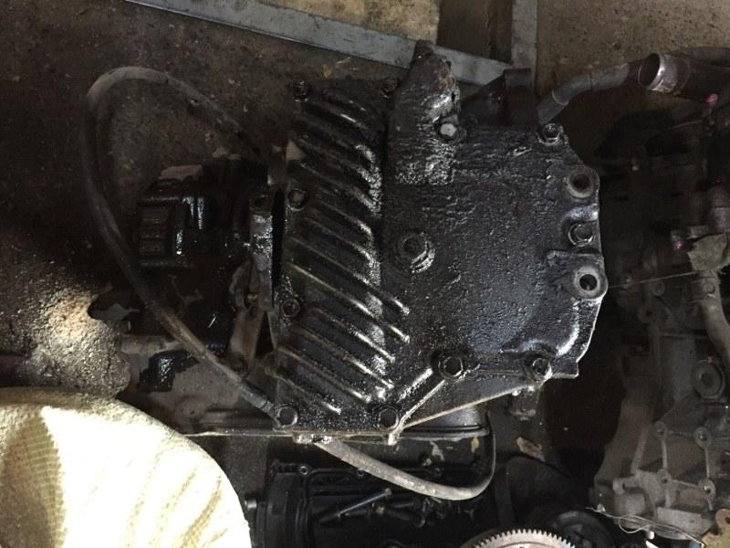 Крышка акпп Toyota SV41 3SGE (б/у)