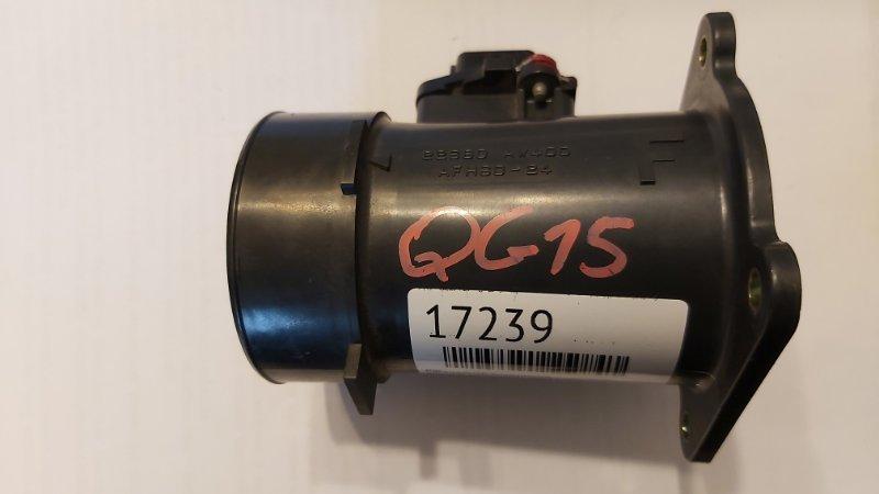 Расходомер воздушный Nissan Ad Wagon VFY11 QG13DE (б/у)