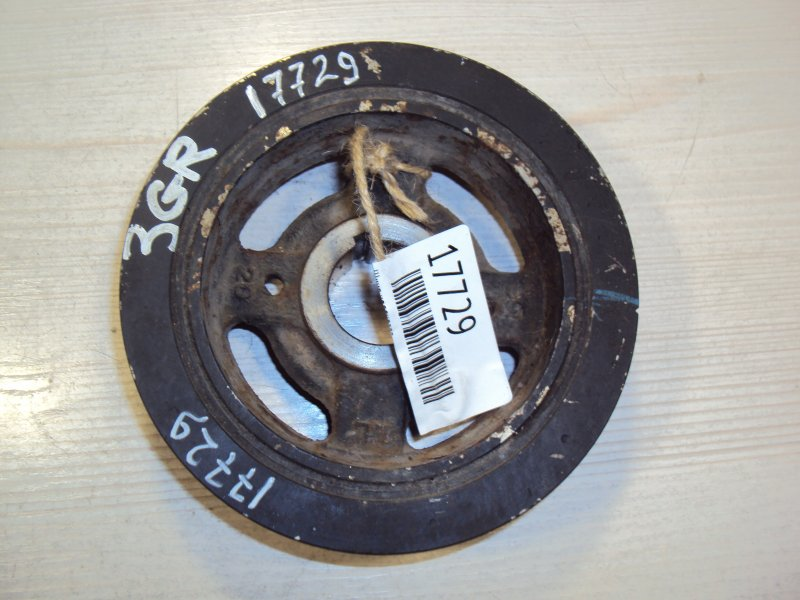Шкив коленвала Toyota Gs250 GRL11 3GRFE (б/у)