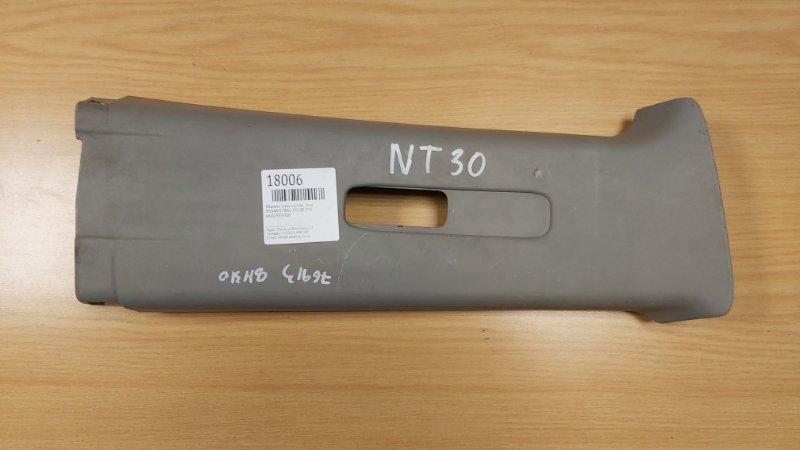 Обшивка стойки кузова Nissan X-Trail T30 QR20DE правая (б/у)
