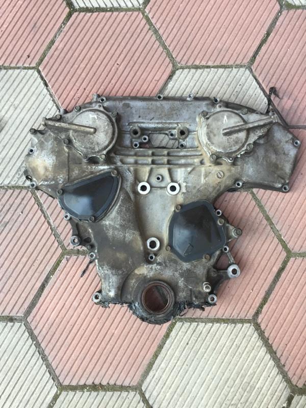 Лобовина двс Nissan Murano VQ35DE (б/у)
