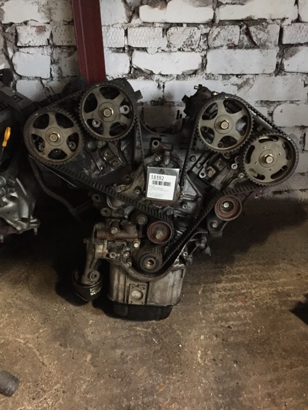 Двигатель Mitsubishi Pajero 6G74 (б/у)