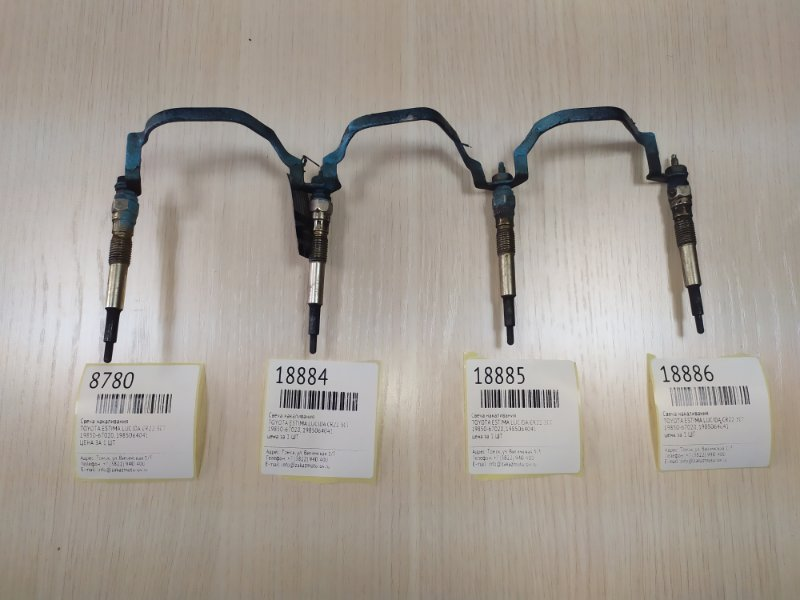 Свеча накаливания Toyota Estima Lucida CXR1 3CT 01.1992 (б/у)