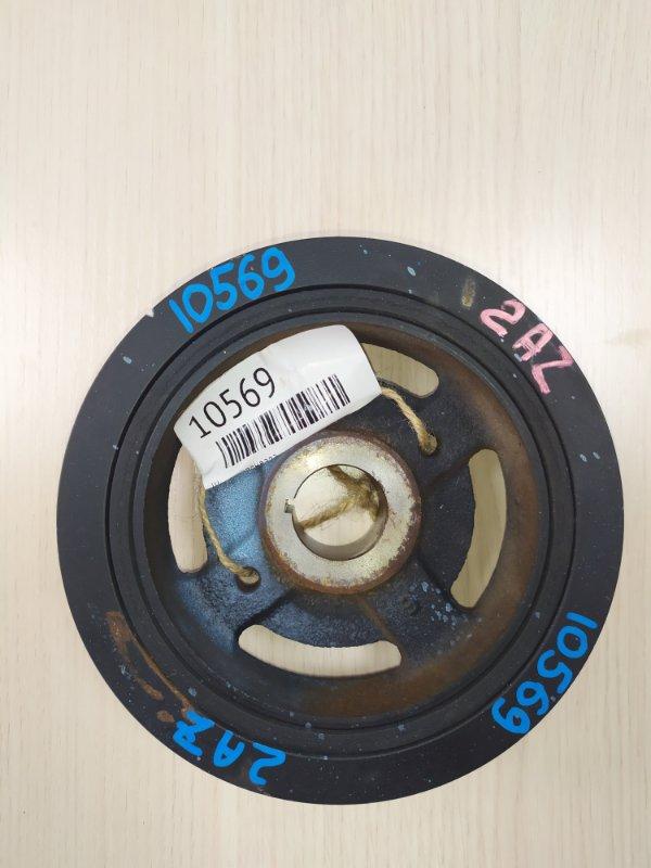 Шкив коленвала Toyota Noah AZR60 1AZFSE (б/у)